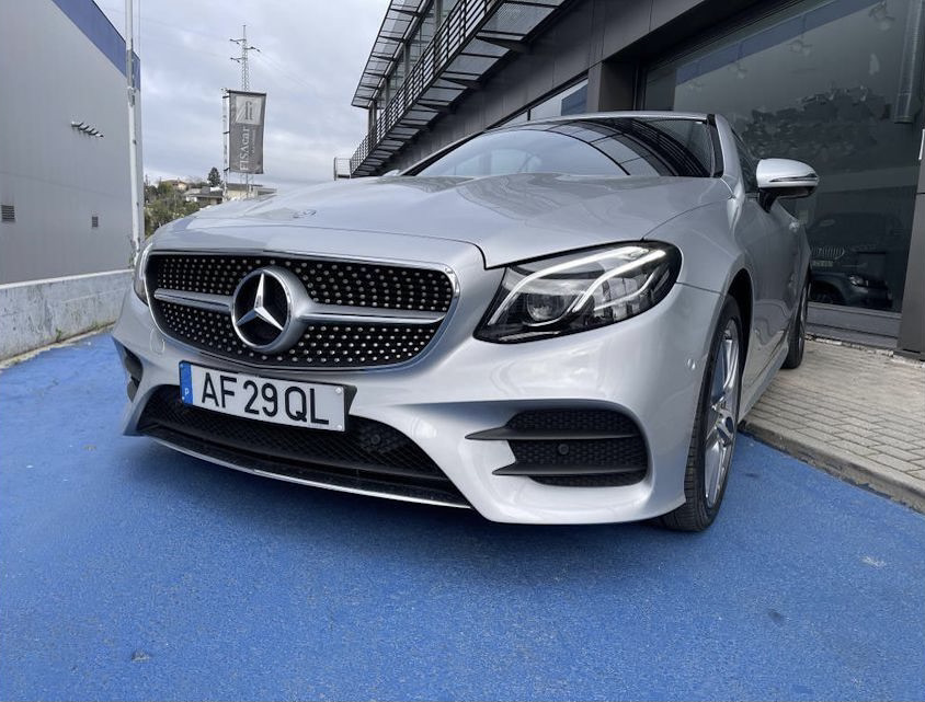 Mercedes E220 Coupe AMG